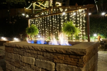 Fire Pit at The Petite Wedding Venue - Birmingham, AL