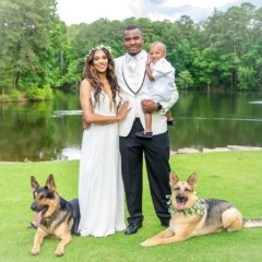 Featured Bride of The Month – August 2018: Erika Crawford
