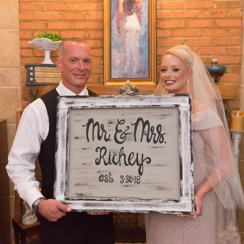 Featured Bride of The Month – May 2018:  Stacey Lynn Richey